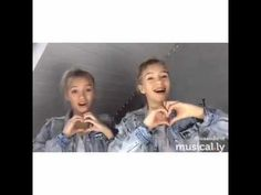 Lisa and Lena -Stitches - YouTube