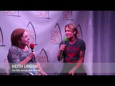 """Keith Urban """"I live for it, it's more of a calling than a job"""" CMA Award..."""