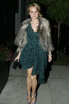 Style Fille: Diane Kruger…yes, again! Diane Kruger, Wedding Guest Looks, Looks Street Style, Kendall Jenner Outfits, Arte Popular, Style Snaps, Tokyo Fashion, Red Carpet Dresses, Portrait
