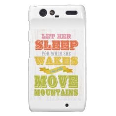 Inspirational Art - Let Her Sleep. Droid RAZR Cover