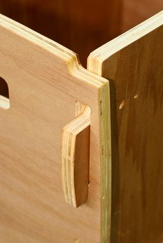 Plywood CNC Box, Joint Detail by phidauex, via Flickr