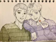 Nueva ilustracion de MinGwa en twitter 💛 Se ven hermosos 😭💛 Manhw