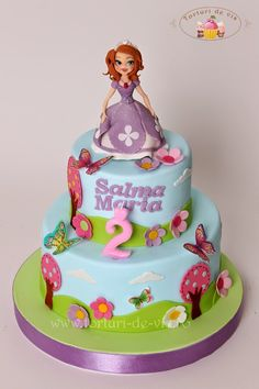 Tort Printesa Sofia pentru Salma