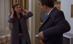 """Gray coat. From """"Match point"""" by Woody Allen."""