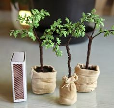 1:12 Scale Growing Trees