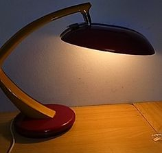 60´s Fase Spain Desk Lamp Mid Century
