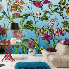 Add a colourful touch to any room with this French inspired wall mural from Komar. Komar wall murals are in stock at Go Wallpaper UK. Bold Wallpaper, Wallpaper Online, Wallpaper Roll, Wallpaper Murals, Wallpaper Ideas, Wall Murals, Wall Art, Contemporary Wallpaper, Mural Painting