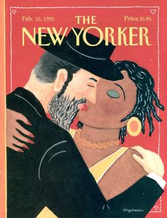 NEW YORKER Magazine cover - February 1993 - excellent condition - by artist Art Spiegelman - Valentine's Day by VeryVintageFinds on Etsy The New Yorker, New Yorker Covers, Ghost World, Capas New Yorker, Rodney King, Art Spiegelman, Illustration Art Nouveau, Book Value, Illustrations