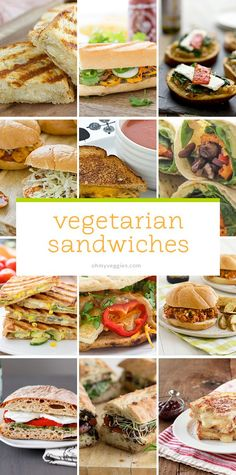 Sandwiches seems simple: Insert ingredients between bread. Eat. But they're so much more complex than that. The best vegan and vegetarian sandwich recipes,