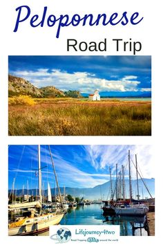 """Taking a Peloponnese road trip is the perfect way to explore this gem of southern Greece. Discover it's allure here ..."""" Winter Destinations, Amazing Destinations, Travel Destinations, Corinth Canal, Best Campervan, Motorhome Travels, Van Living, Ancient Ruins, Winter Travel"""