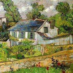Vincent van Gogh (1853-1890, Netherlands) | Maison a Auvers
