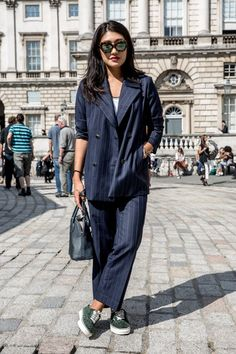 LFW Street Style Day One: Peggy Gould, Haper's Bazaar Editor