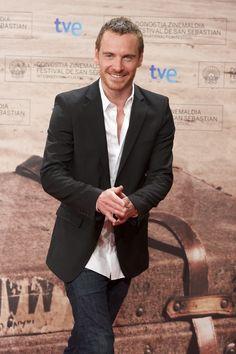 "Michael Fassbender   Simone: ""Michael Closes the San Sebastian Film Festival"""
