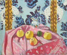 Henri Matisse - Still Life with Apples on a Pink Tablecloth 1924