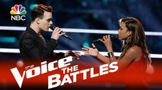 "The Voice 2015 Battle - India Carney vs. Clinton Washington: ""Stay"" (Beautiful performance by the both of them)"