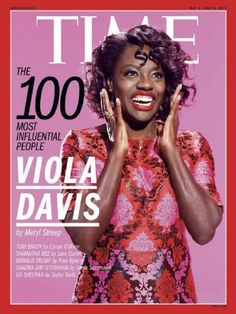 """DIARY OF A CLOTHESHORSE: Viola Davis covers Time Magazine Cover """"United Sta..."""