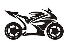 Whether you are showing people you ride or showing your favorite bike to ride let people see your passion for motorcycles with this sport bike decal.
