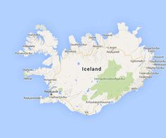 Iceland Map - For 91 Days