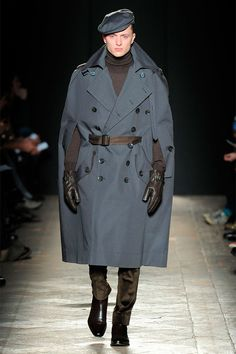 Daks Fall/Winter - WOW love this outfit! Sure it kind of looks like a SS Soldier... but damn I'd rock it anyway