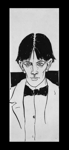 """Aubrey Beardsley: """"I really draw folk as I see them. Surely it is not my fault that they fall into certain lines and angles."""""""