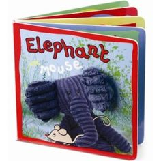 Jellycat Elephant & Mouse Board Book $8.99