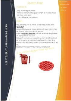 Sorbet fraise - Tupperware