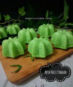 Resep Apem Nasi Pandan  by Xenia Sari