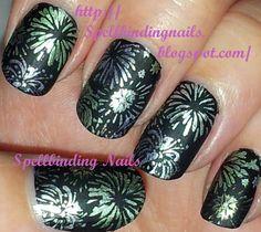 Spellbinding Nails: Big SdP D - ' Happy 2012! '