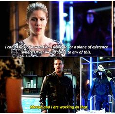 "#Arrow 3x12 ""Uprising"" - Felicity and Oliver"