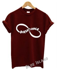 directioner t shirt one direction 5 sos music harry by One Direction Fashion, One Direction Merch, One Direction Outfits, Printed Shirts, Tee Shirts, Tees, Now And Forever, 1d And 5sos, School Outfits