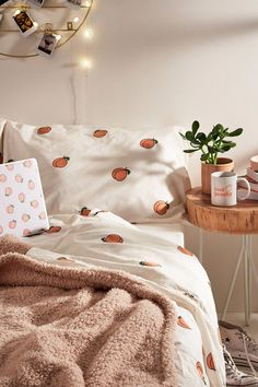 Peach Duvet Cover Set at Urban Outfitters today. We carry all the latest st. Shop Peach Duvet Cover Set at Urban Outfitters today. We carry all the latest st.Shop Peach Duvet Cover Set at Urban Outfitters today. We carry all the latest st. Cute Room Decor, Teen Room Decor, Bedroom Decor, Bedroom Ideas, Bedroom Bed, Peach Bedroom, Wall Decor, Bed Room, Master Bedroom