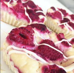 Fitness sezamové tofu koláčky s malinami | Věříme ve fitness