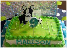 Girl's Soccer Birthday Party
