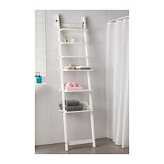 HJÄLMAREN Wall shelf - white - IKEA