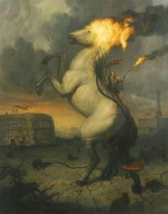 #print #MartinWittfooth #horse #art