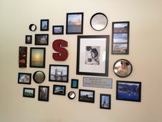 Our new travel wall.