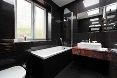 Hotel Selský Dvůr - koupelna Corner Bathtub, Bathroom Lighting, Hotels, Mirror, Furniture, Home Decor, Bathroom Light Fittings, Bathroom Vanity Lighting, Decoration Home