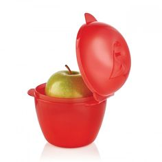 Apple Keeper:          Head back to school with a delicious treat.   In Chili.  Dishwasher safe.  Limited Lifetime Warranty.       Item:10127444000