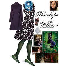 Penelope Wilhern by catlyp, via Polyvore
