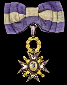 Order of Maria-Louisa (Spain) – Insignia