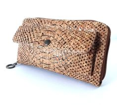 Cork Wallet for Women - FREE SHIPPING WORLDWIDE -Vegan Eco-Friendly Christmas Gift Idea is available at $87.00 https://www.etsy.com/listing/210391309/cork-wallet-for-women-free-shipping?utm_source=socialpilotco&utm_medium=api&utm_campaign=api  #accessories #wallet