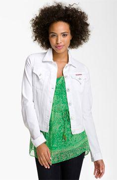 Hudson Jeans Denim Jacket (White) available at #Nordstrom