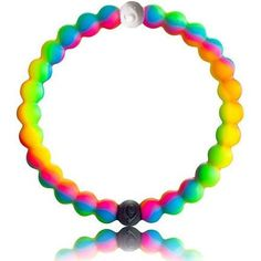 Rainbow Lokai Bracelet as seen on Nina Dobrev