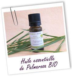 Huile essentielle Palmarosa BIO Aroma-Zone