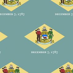 Smartphone Case - State Flag of Delaware  - Patchwork Large
