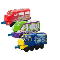 """$14.99 Chuggington Die-Cast Engines - Wilson, Koko, and Brewster Storm Maker 3-Pack -  TOMY - Toys""""R""""Us"""