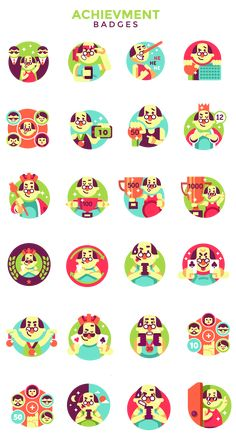 App designs and illustrations on Behance