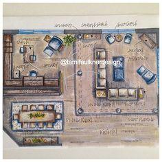 Floorplan Interiordesign Interiordesigner Rendering Handrafting Houseplan Designofinterior Residentialdesign