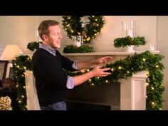 Designer Eddie Ross Decorates Mantle for the Holidays  - VIDEO