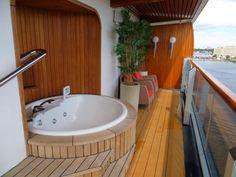Pinnacle Suite Eurodam balcony pic 2